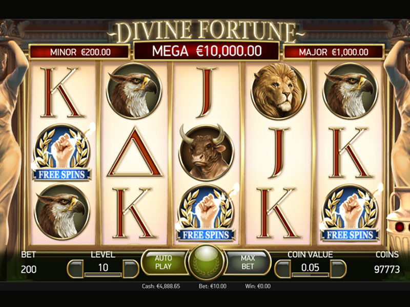 Spela Divine Fortune Här